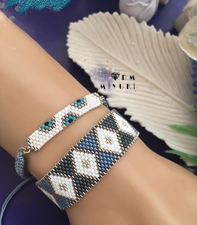 Dark silver & Blue✨ - - - - - #miyuki #instalike #taki #design #tasarim #handmade #happy #elemeği #love #instagood #instalove #instadaily #fashion #tarz #trend #style #photooftheday #art #girl #beautiful #accessories #jewelry #bileklik #bracelet#instalike #like4like #silver #instagram #colors #details #mavi #