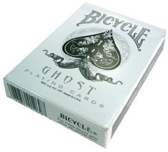Amazon.com: Bicycle Ghost Playing Cards Deck by Ellusionist: Toys & Games