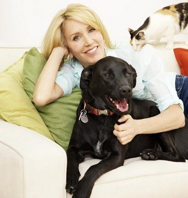 Photo of Felicity Huffman & her Dog Tucker