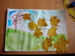 Risultati immagini per работа Праздник Осенний пейзаж Листья