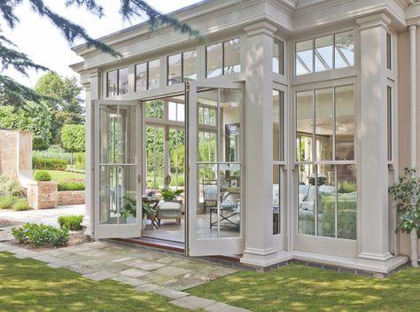 Orangery With Bi Fold Doors, Profesjonalista: Vale Garden Houses