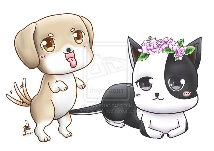 Commission - Hera and Pongo