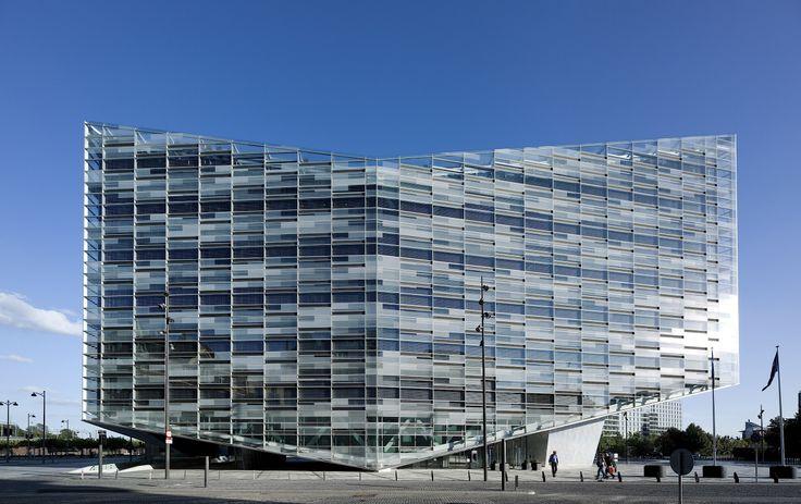 The Crystal/Denmark/schmidt hammer lassen architects/photo: Adam Mørk.
