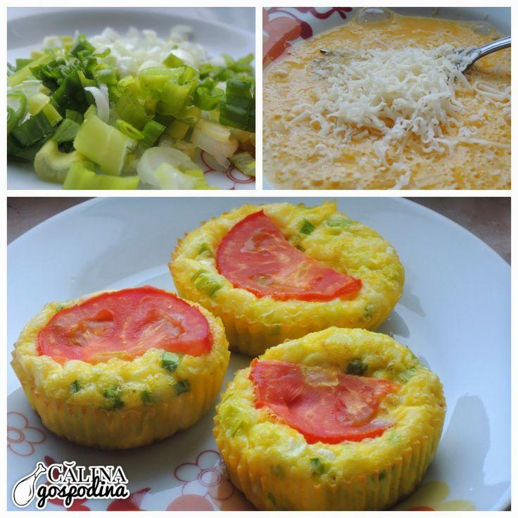 Brioșe de ouă // Egg Muffins (by Cori Grămescu)