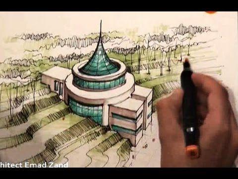 architect emad zand - sketch 09 - خلاقیت در معماری عمادالدین زند
