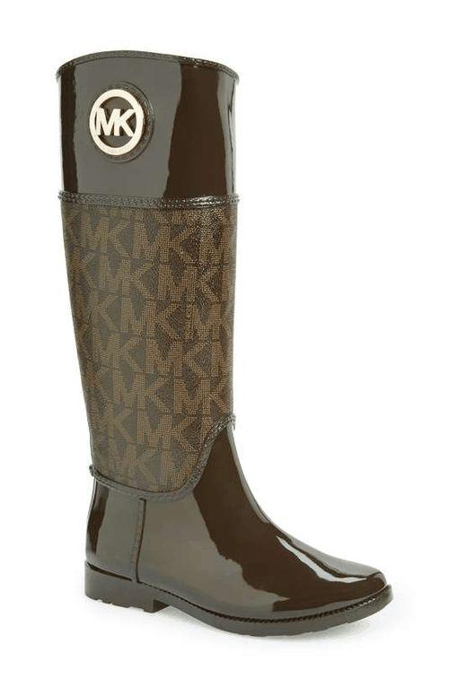 MICHAEL Michael Kors | 'Stockard' Rain Boot (Women) #michaelmichaelkors  #rainboots