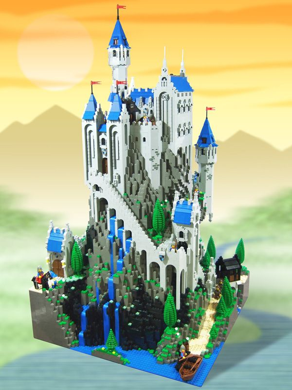 Black Rock Castle - I love the waterfalls on this one!