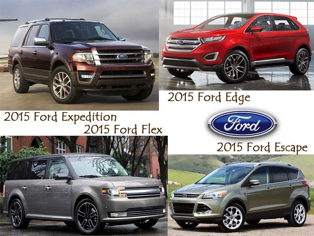 2015 Ford SUV Names