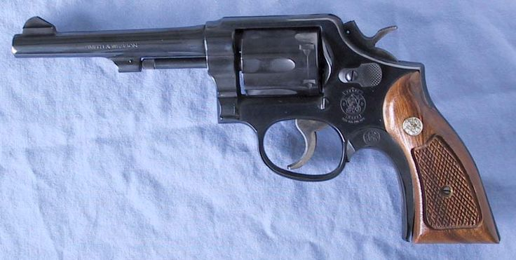 Smith Wesson Model 10 revolver RCMP original issued sidearm
