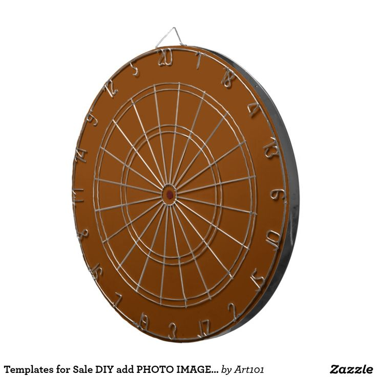Templates for Sale DIY add PHOTO IMAGE TEXT Dart Boards