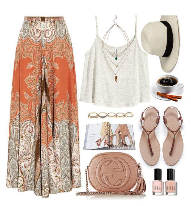 Frauenkleidung – Boho way by monmondefou auf Polyvore mit H & M, Etro, Zara, Gucci, Sole Socie … ,