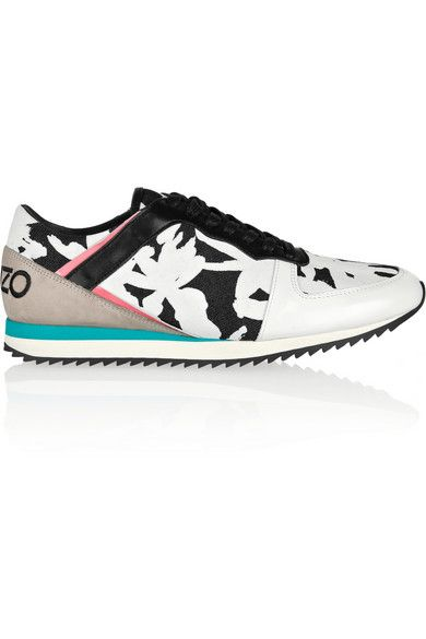 Kenzo sneakers (more stylish activewear --> http://chicityfashion.com/stylish-activewear/)