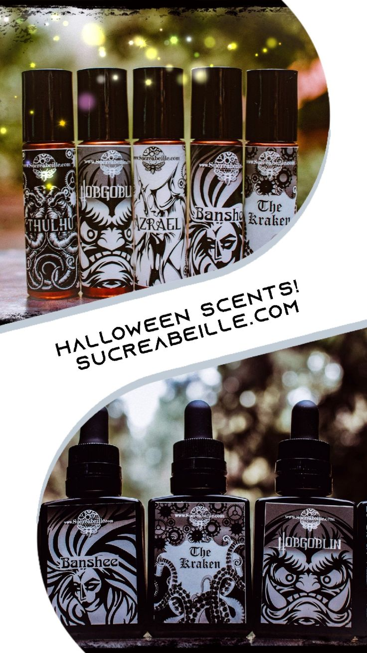 Check out these Halloween perfumes, available as