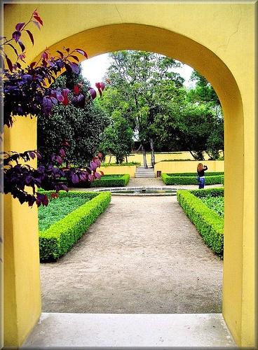 Portugal Mafra Jardim do Cerco