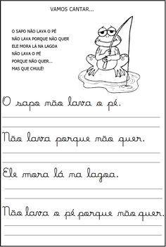 ATIVIDADES PARA APOIO PEDAGÓGICO: Apoio para alfabetização