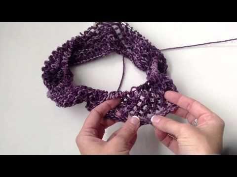 How to Knit the Twisty Swirl Cowl - YouTube