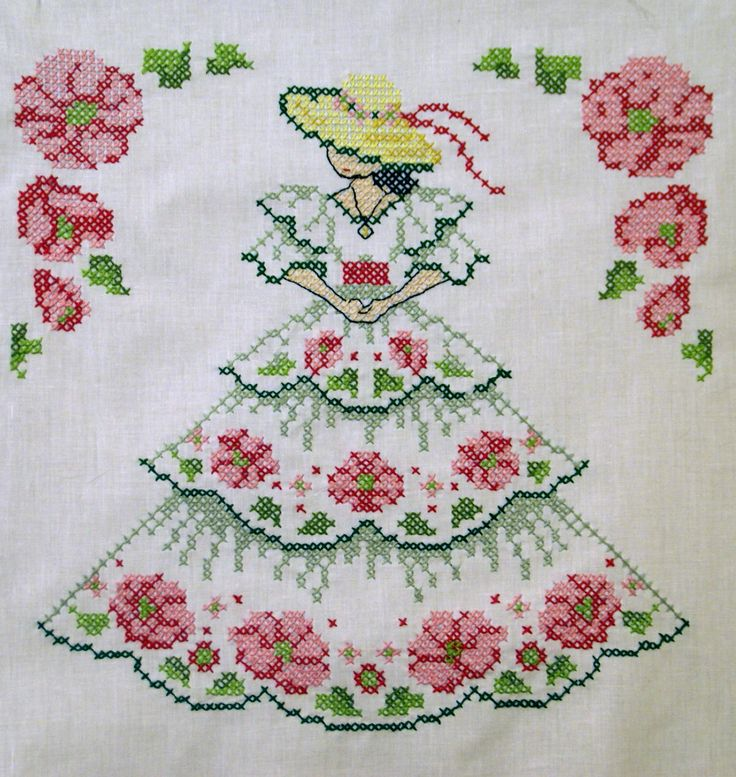 Southern Belle - Counted cross stitch
