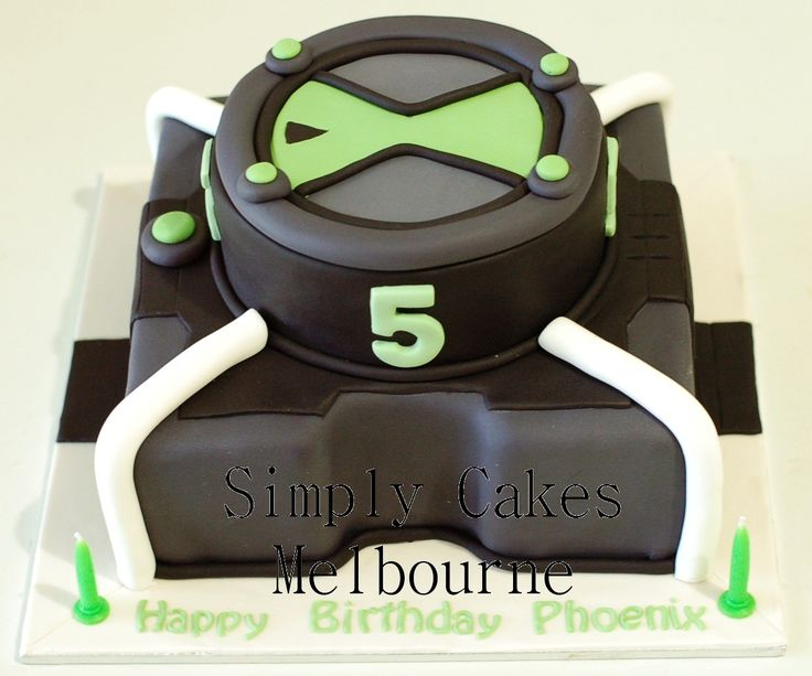 Ben 10 Watch Cake picture