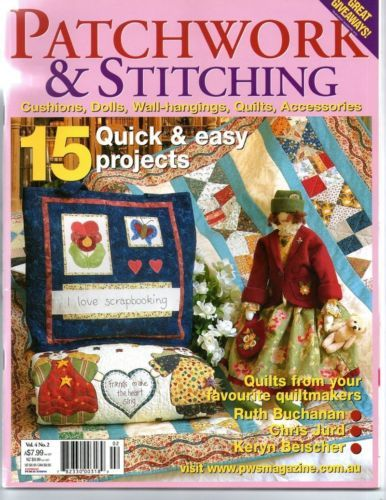 Australian Patchwork and Stitching Magazine May 2004 Quilts Dolls Accessories | eBay