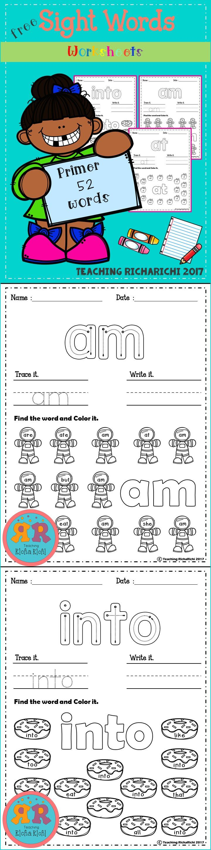 worksheet Pre K Sight Words Worksheets the 25 best pre k sight words ideas on pinterest word freebies free kindergarten activities first grade 1st gr