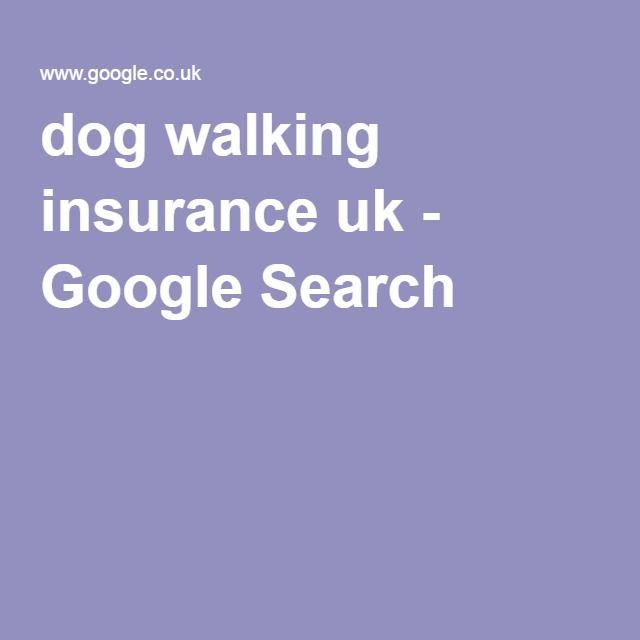 dog walking insurance uk - Google Search