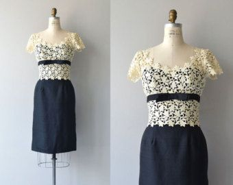 Ondine dress | vintage 1950s dress | lace 50s cocktail dress