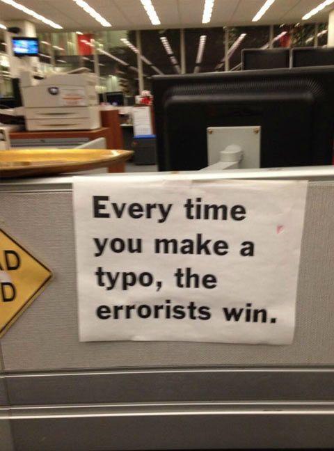 Improve your grammar...