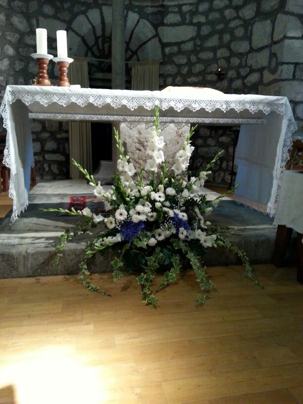 d coration mariage glise fleurs avec diane pinterest. Black Bedroom Furniture Sets. Home Design Ideas