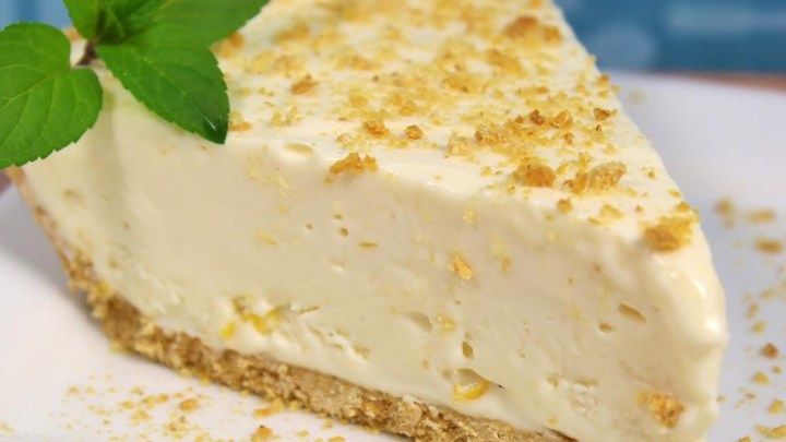 This simple no-bake pie is made with cream cheese, sweetened condensed milk, and lemon juice in a graham cracker crust. Dress it up with a fruit glaze, or serve it with whipped cream.
