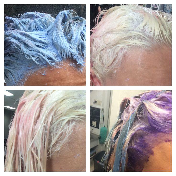 Ontkleuren met BondPro van #goldwell! Lovely blonde And still have Healthy hair.