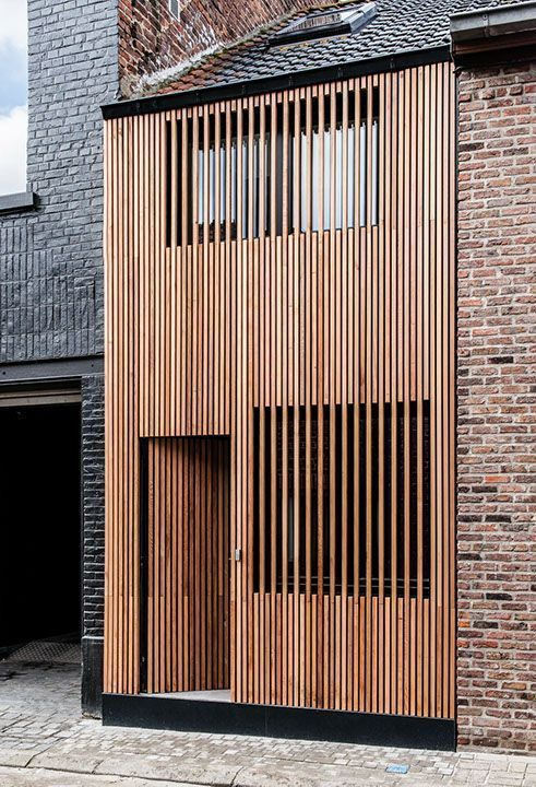 #architektur #facade #holzlatten #minimalismus – IMN Architekt – aestatestudio