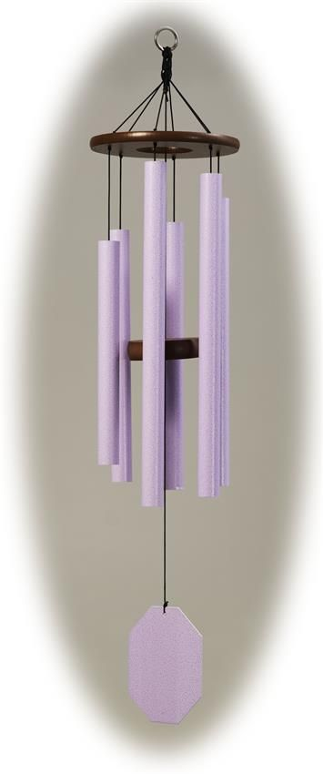 Amish Amethyst Series Morning Glory Wind Chime