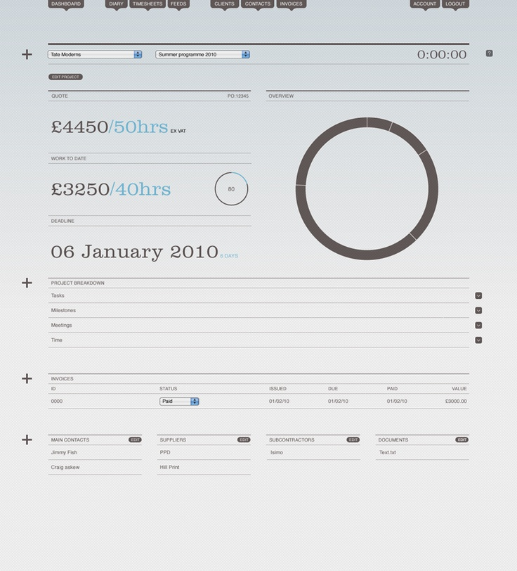 114 best Invoice images on Pinterest Dashboard design, User - web design invoice