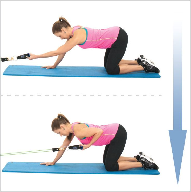 Workout With Bands For Arms: 25 Best UPPER BODY EXERCISES Images On Pinterest