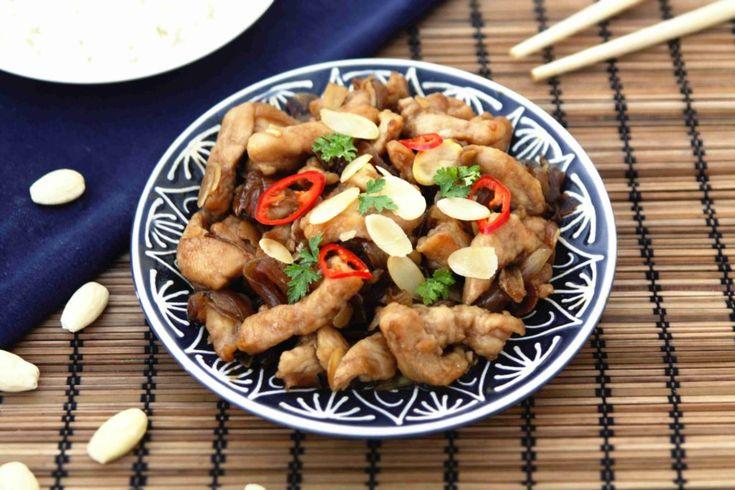 Čínské kuře s mandlemi // Ochutnejte svět - blog mezinárodní kuchyně