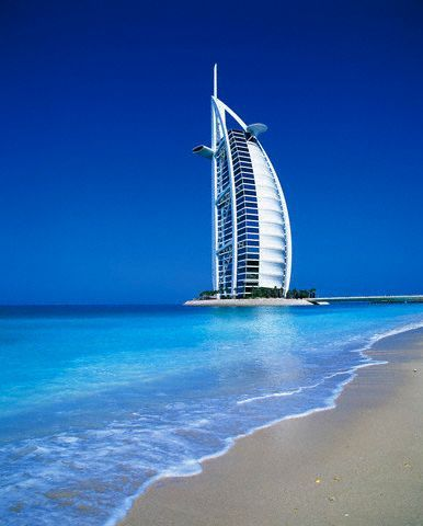 Burj Al Arab Hotel in the United Arab Emirates