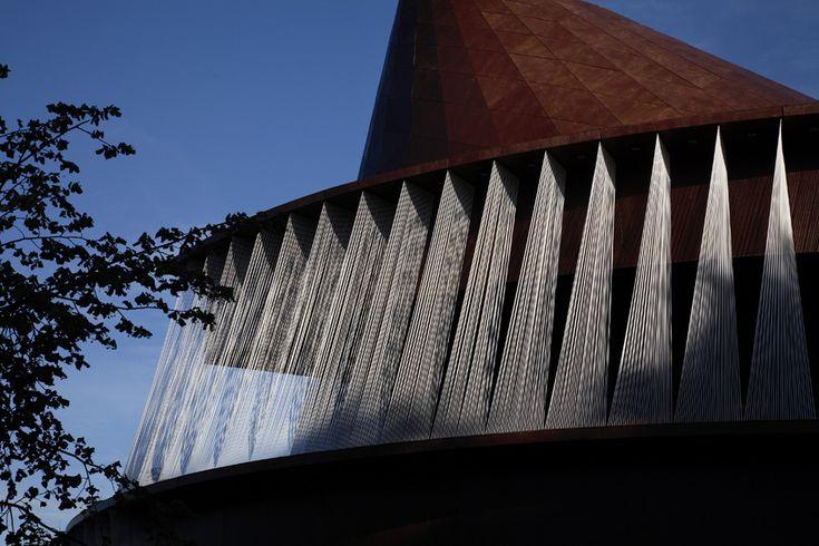 Serpentine Gallery Pavilion 2007 by Olafur Eliasson and Kjetil Thorsen