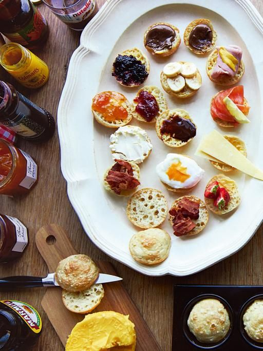 Breakfast crumpies | Jamie Oliver | Food | Jamie Oliver (UK) - A heavenly cross between crumpets and Yorkshire puds