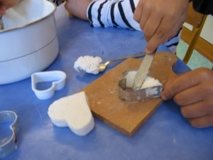 Fabriquer un savon pour la fête des mères