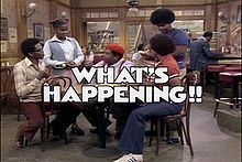 """What's Happening!! follows the lives of 3 working-class African-American teens living in the Watts section of Los Angeles. The show aired from August 1976 to April 1979. It starred Ernest Thomas as Roger """"Raj"""" Thomas, Haywood Nelson as Dwayne Nelson, Fred Berry as Freddy """"Rerun"""" Stubbs, Danielle Spencer as Roger's younger sister Dee; Mabel King as Roger and Dee's mother Mabel; and Shirley Hemphill as Shirley Wilson, a waitress at Rob's Place, the restaurant where the boys are regular…"""
