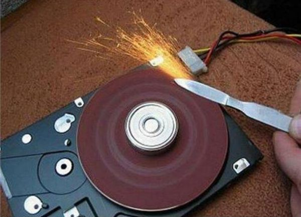 I've never thought of this... I've got quite a few old hard drives kicking around.
