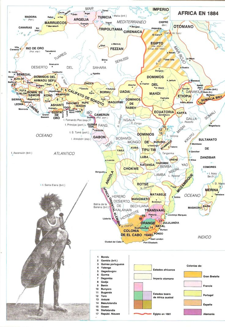 Mapa - Mapas del Colonialismo e Imperialismo Europeo