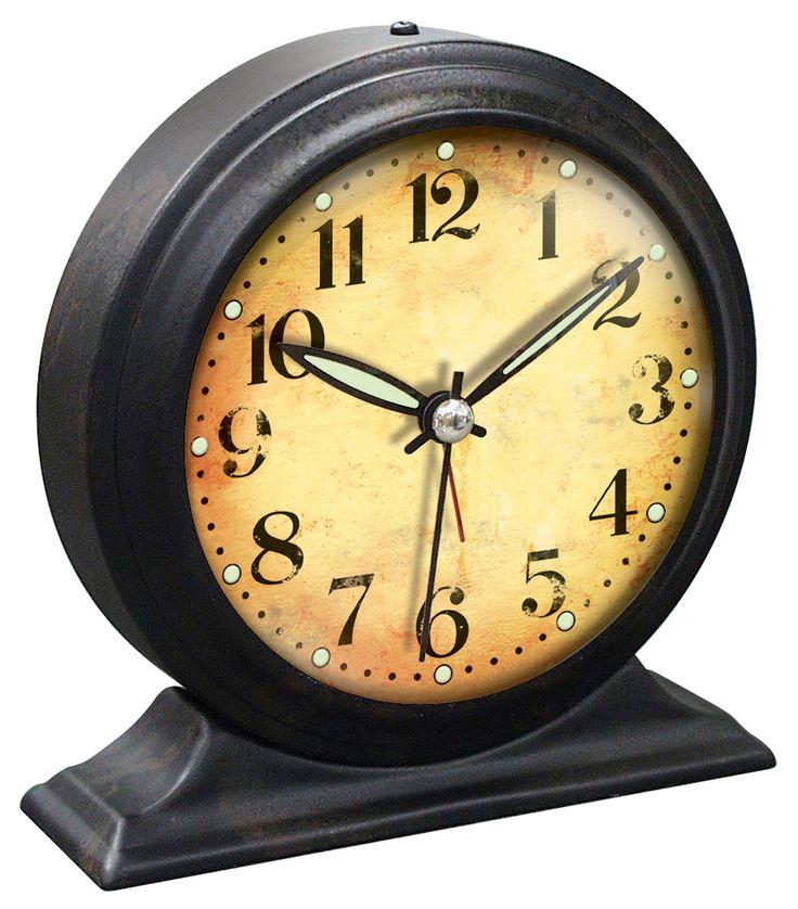 Infinity Instruments Boutique Black Clock 10415/BLACK