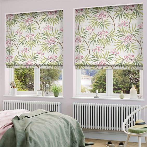 Just like the stunning Japanese landscapes that the design draws inspiration from, the Arberella Berry roman blind looks gorgeous, full of colour and life.