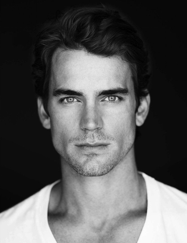 Matt Bomer     .     I get that he's gay, but I just want to look at him anyway.