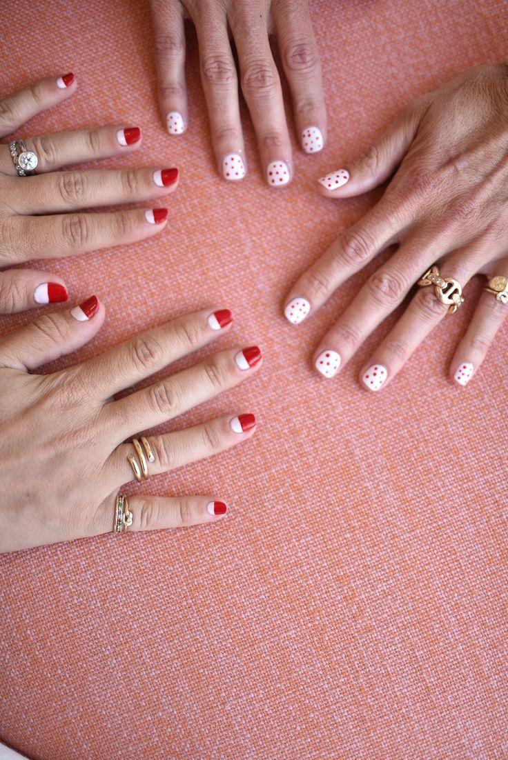 Perfect nail art at the Candy Crush launch #AGJNailedIt