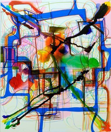 Joanne Greenbaum - Artists - Rachel Uffner Gallery