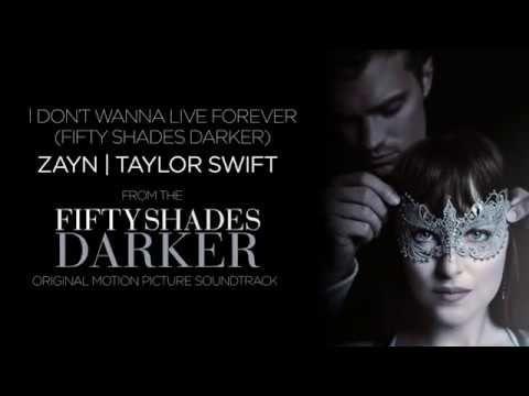 Zayn | Taylor Swift - I Don't Wanna Live Forever (Fifty Shades Darker) (Lyric Video) - YouTube