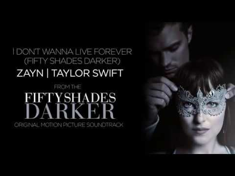Zayn | Taylor Swift - I Don't Wanna Live Forever (Fifty Shades Darker) (Lyric Video) - YouTube