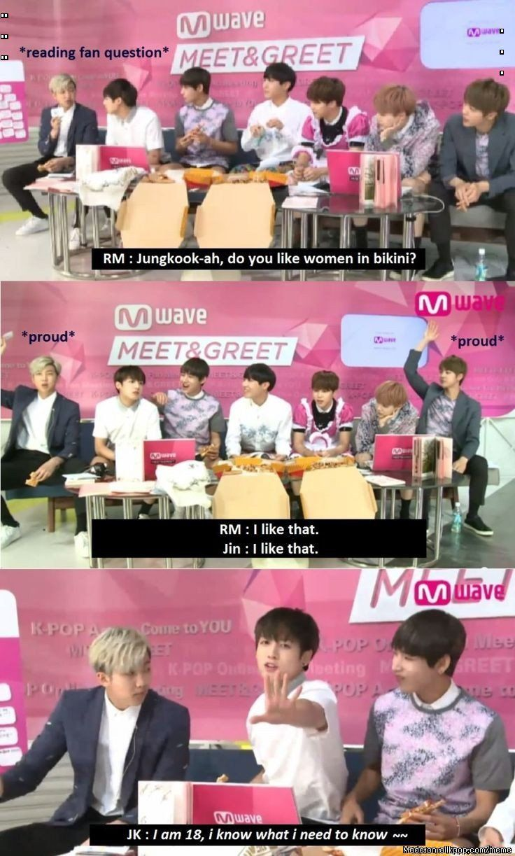 ~Jeon Jungkook that the best answer anyone could of have said XD